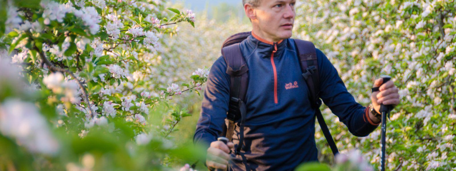 Blütenwanderung in Südtirol