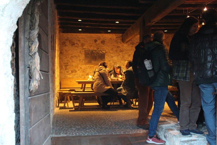 Der urige Hofladen im Ansitz Rynnhof
