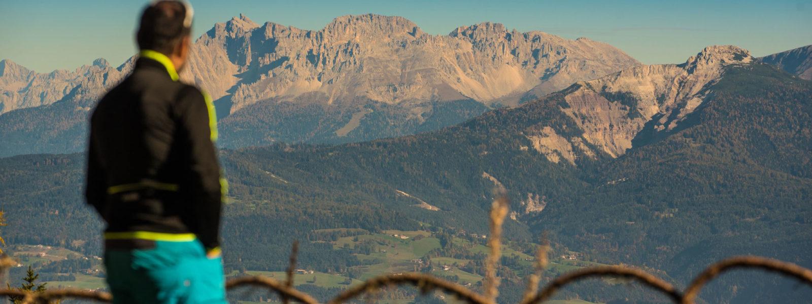 Wandern Aussicht Berggipfel